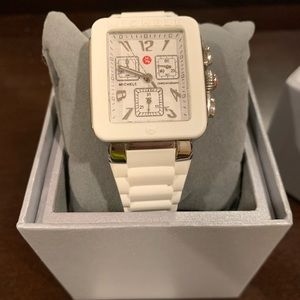 White jelly michele watch